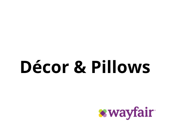 Décor & Pillows Wayfair