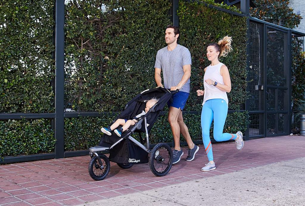 Shopping at baby jogger