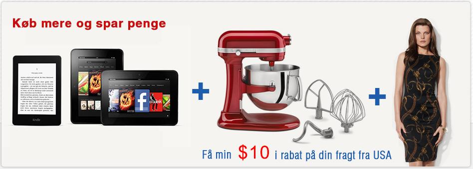 ShopUSA – køb varer i USA og fragt dem til Danmark